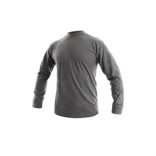 Pánske tričko s dlhým rukávom CXS, tmavosivé