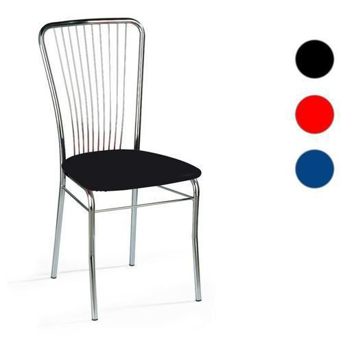Kožené jedálenské stoličky Neron Chrom