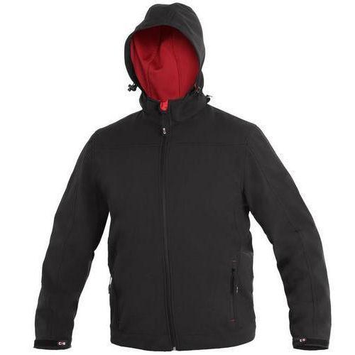 Pánska softshellová bunda CXS, čierna