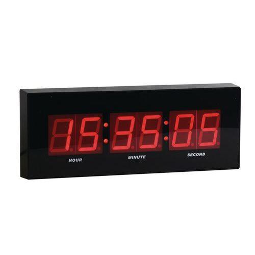 LED digitálne hodiny DG2 Manutan, šírka 31 cm