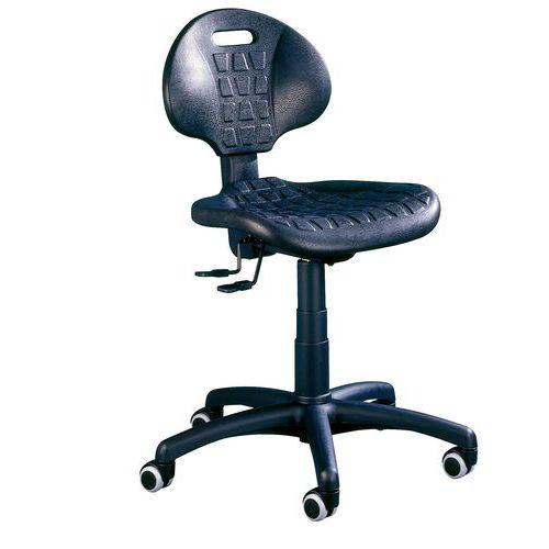9a08bf85119f Pracovná stolička Nelson s mäkkými kolieskami