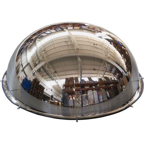 Priemyselné parabolické zrkadlá Manutan, pologuľa