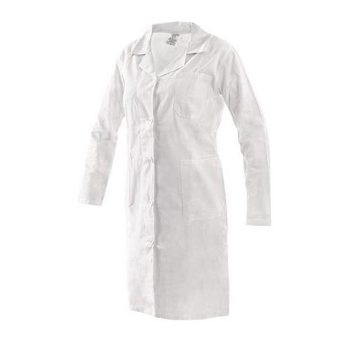Dámsky biely plášť