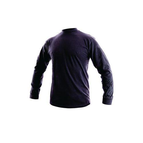 Pánske tričko s dlhým rukávom CXS, tmavomodré