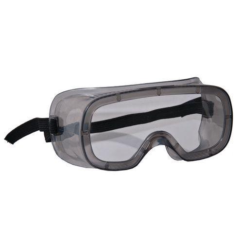 Uzatvorené ochranné okuliare CXS Vito s čírymi sklami