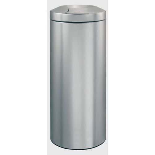 Kovový samozhášací odpadkový kôš Protect, objem 30 l