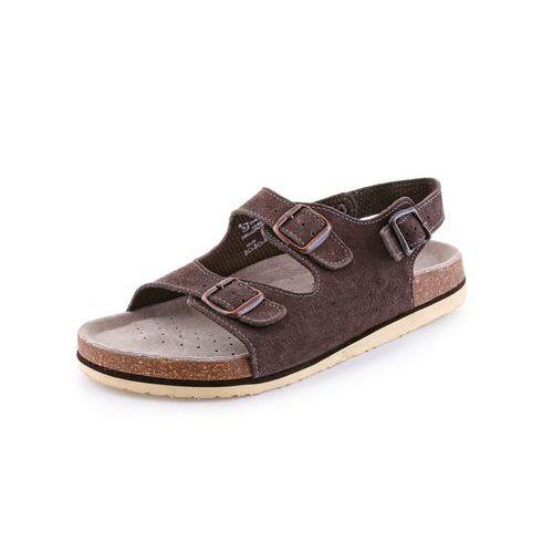 Zdravotné kožené sandále CXS Dr. Cork, dámske, hnedé