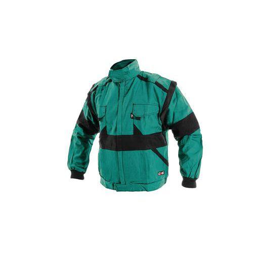 Pánska montérková blúza CXS, zelená/čierna