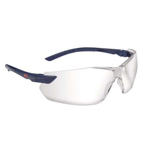 Nezahmlievacie ochranné okuliare 3M Elegant s čírymi sklami