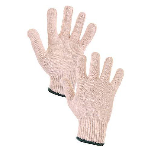 Bavlnené rukavice CXS, biele