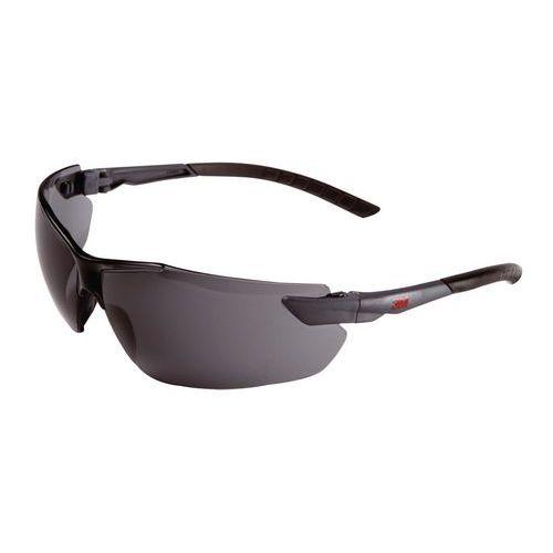 Nezahmlievacie ochranné okuliare 3M Elegant s dymovými sklami