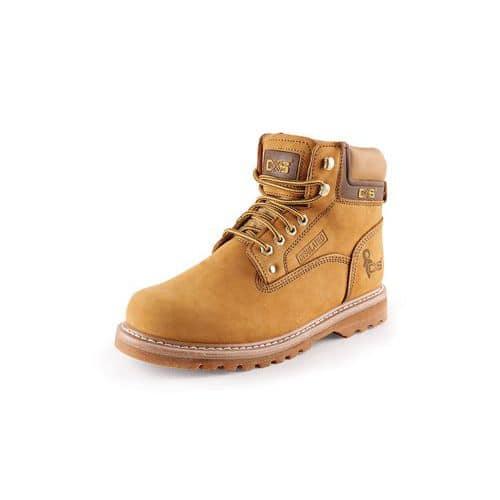 Pracovné kožené členkové topánky CXS Road, svetlohnedé