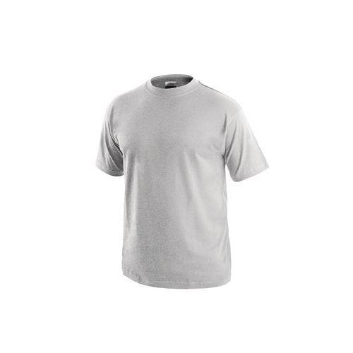 Pánske tričko s krátkym rukávom, svetlosivé