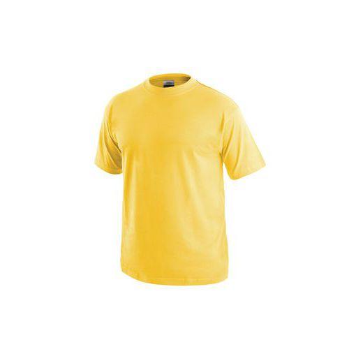 Pánske tričko s krátkym rukávom CXS, žlté