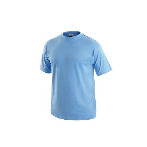 Pánske tričko s krátkym rukávom, svetlomodré