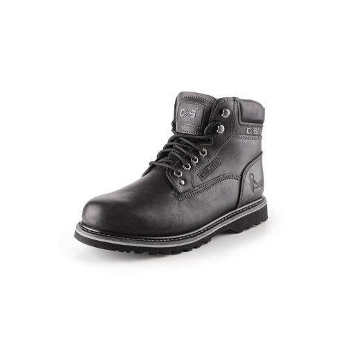 Pracovné kožené členkové topánky CXS Road, čierne