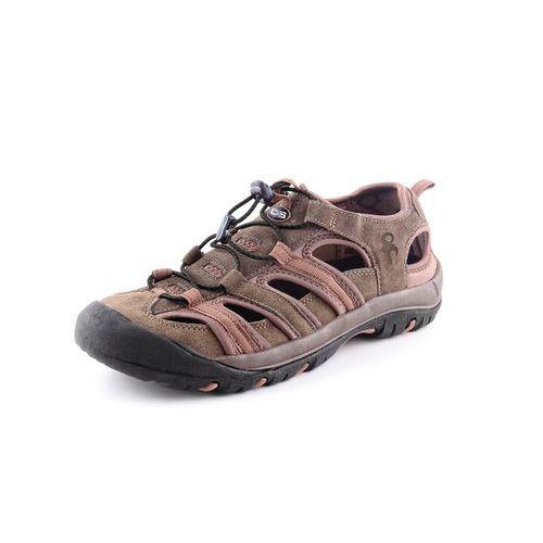 Športové kožené sandále CXS Sahara, hnedé