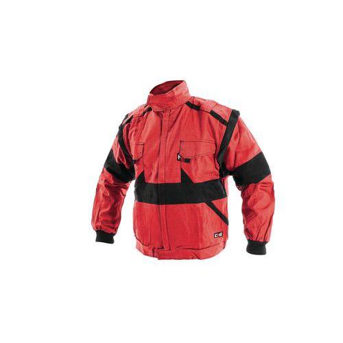 Dámska montérková blúza CXS, červená/čierna