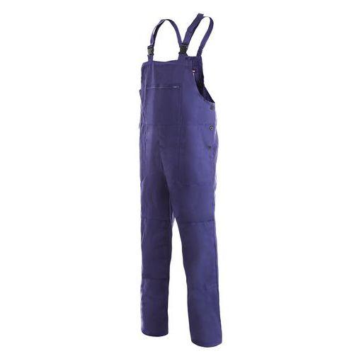 Pánske montérkové nohavice s náprsenkou CXS, modré