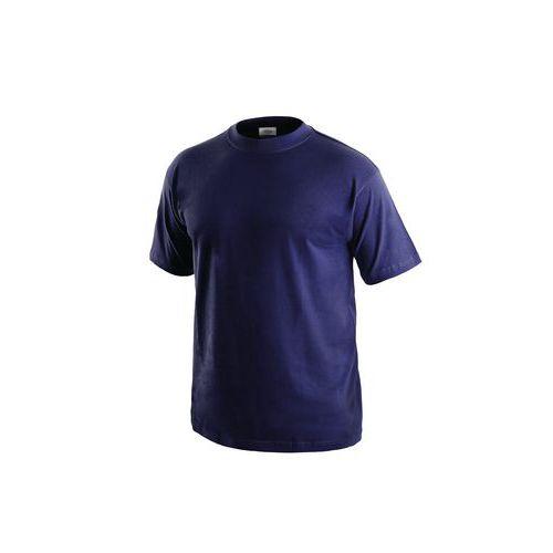 Pánske tričko s krátkym rukávom, tmavomodré