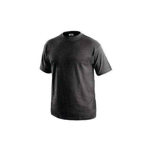 Pánske tričko s krátkym rukávom, čierne