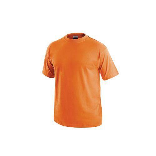 Pánske tričko s krátkym rukávom, oranžové