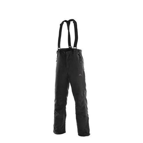 Softshellové nohavice CXS s trakmi, čierne