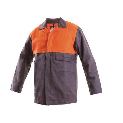 Pánska zváračská blúza CXS, sivá/oranžová