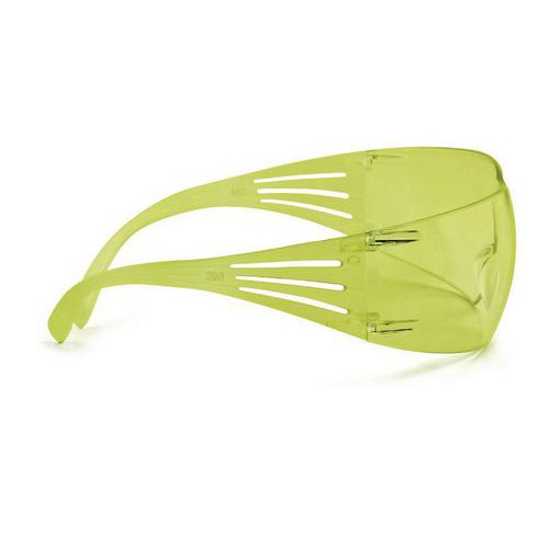 Nezahmlievacie ochranné okuliare 3M SecureFit so žltými sklami