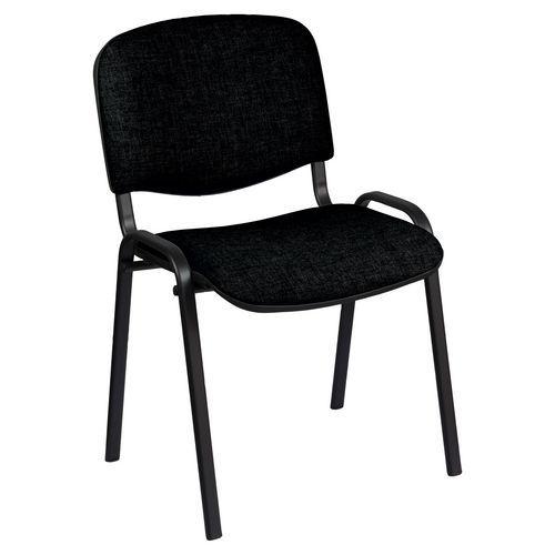 Konferenčné stoličky Manutan ISO Black