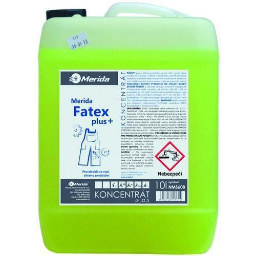 Čistiaci prostriedok na silné znečistenie Merida Fatex, 10 l