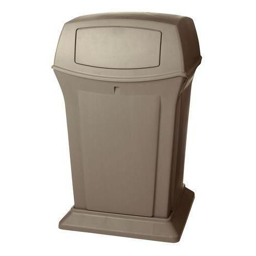 Plastový vonkajší odpadkový kôš Rubbermaid Aston, 170 l