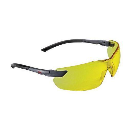 Nezahmlievacie ochranné okuliare 3M Elegant so žltými sklami