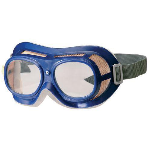 Uzatvorené ochranné okuliare CXS Tole s čírymi sklami