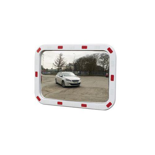 Dopravné obdĺžnikové zrkadlá Manutan