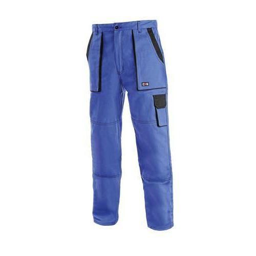 Pánske montérkové nohavice CXS, modré/čierne