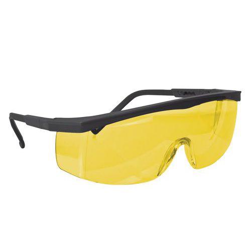Ochranné okuliare CXS Kid so žltými sklami