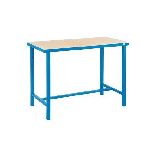 Zváraný dielenský stôl Rivt, 85 x 120 x 60 cm