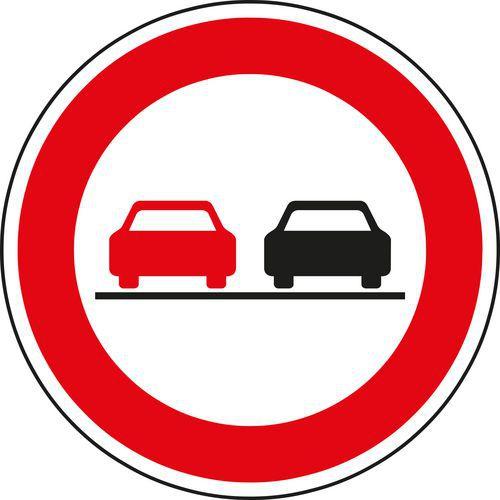 a7828c5b0 Dopravná značka Zákaz predbiehania (B21a)