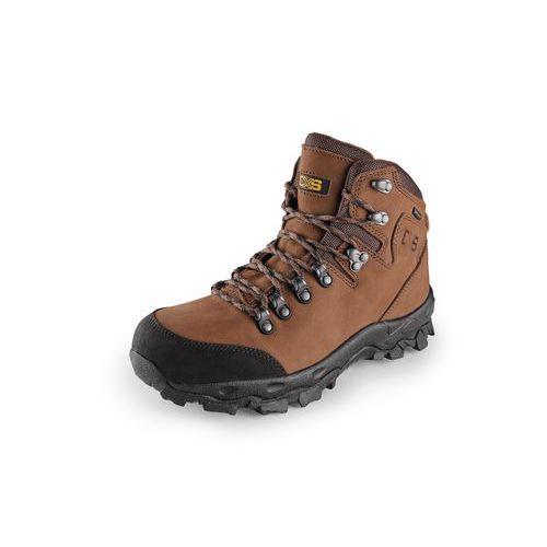 Trekingové kožené členkové topánky CXS Gotex Blanc, hnedé