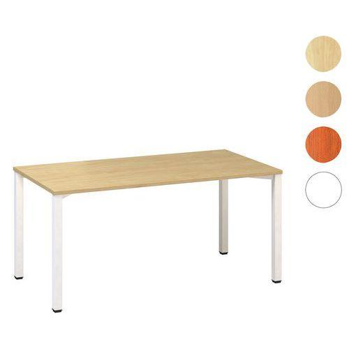 Rovné kancelárske stoly Alfa 200, 160 x 80 x 74,2 cm, rovné vyhotovenie