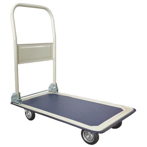 Plošinový vozík so sklopným držadlom Manutan, do 150 kg