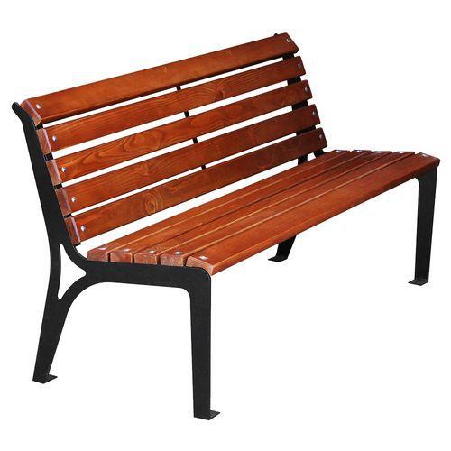 Parková lavička Simply s operadlom