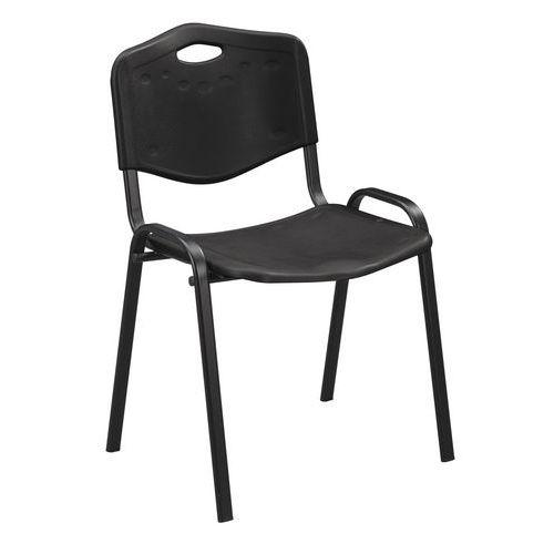 Plastové jedálenské stoličky Manutan ISO