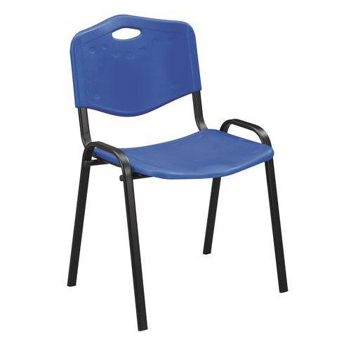 Plastové jedálenské stoličky ISO