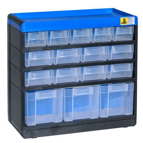 6304af1d416e7 Plastový organizér VarioPlus Pro 29/32, 16 zásuviek