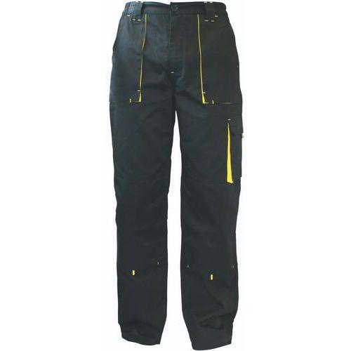 Pánske montérkové nohavice Manutan, čierne