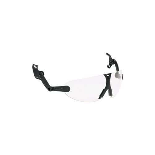Nezahmlievacie okuliare na prilbu 3M V9C s čírymi sklami