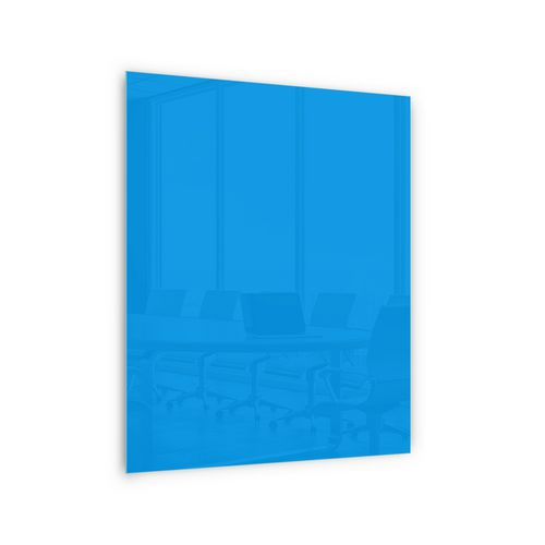 Sklenené magnetické tabule Memoboard, modré