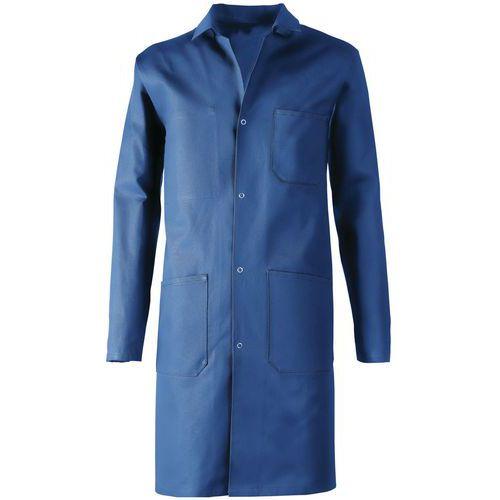 Pánsky modrý plášť Manutan, bavlna